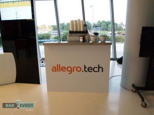 Stoisko kawowe dla Allegro.tech