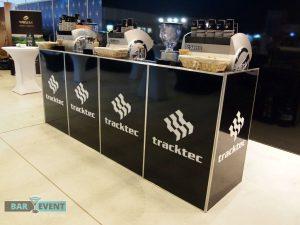 Stoisko kawowe dla Tracktec