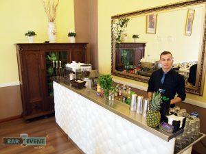Drik bar na sali weselnej