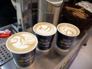 kawa w stylu latte art
