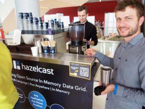 stoisko targowe z kawą