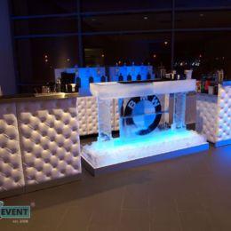 Bar lodowy z logo BMW