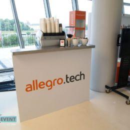Stiosko z kawą dla Allegro.tech
