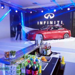 Bar-Event na promocji nowego modelu Infiniti